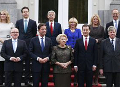 New Dutch cabinet presented