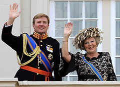 Inauguration king Willem-Alexander to cost state €5m