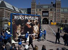 Rembrandt's Night Watch goes home to revamped Rijksmuseum