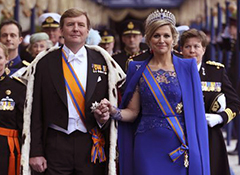 King Willem Alexander inaugurated