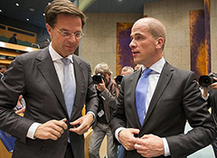 Summer break assessment Dutch two party coalition