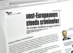 PVV launches site for complaints about Poles