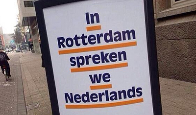 Local elections: VVD wants people in Rotterdam to speak Dutch