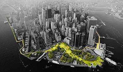 The Big U: Dutch water design helps to save Manhattan