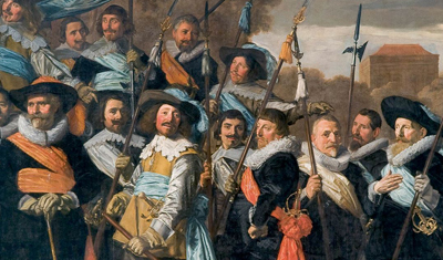 Dutch Civic Guard Paintings reunited in Royal Palace Amsterdam