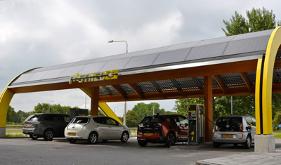 Dutch charging station company for electric cars goes public