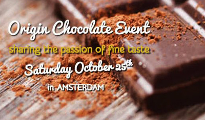 Origin Chocolate Event, where 'from bean to bar makers' meet