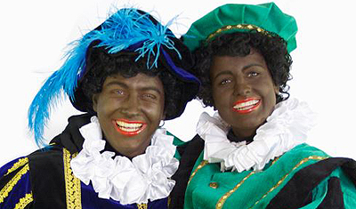 Black Pete, the helper of St Nicholas stays black in most municipalities