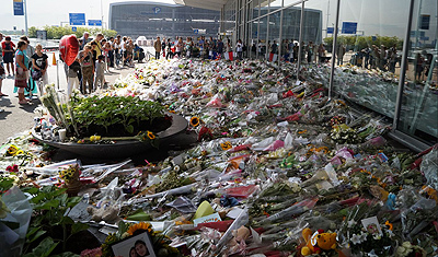 National Commemoration of flight MH17 disaster