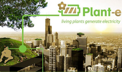 World première: Lights powerd bij living plants