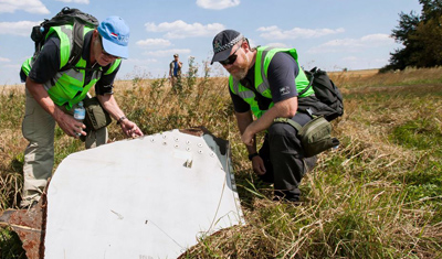 Recovered wreckage flight MH17 transported to Kharkov, operation has ended