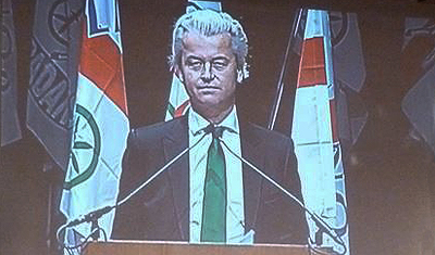 Wilders interrogated by Dutch State Police