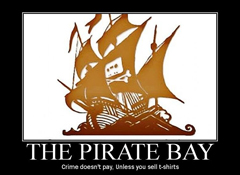 Pirate Bay blockade campaign continues