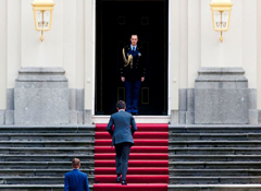 Dutch PM Rutte submits resignation to Queen